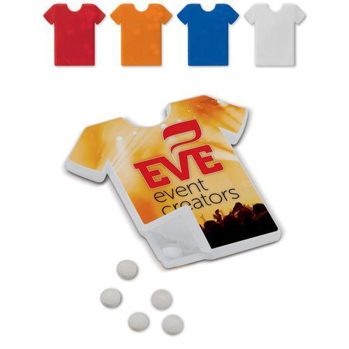 Distributeur de bonbons en forme de tee shirt publicitaire AC Créations Strasbourg Alsace