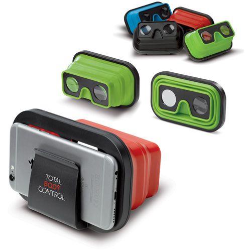 Lunette de réalité virtuel en silicone publicitaire Ac créations Strasbourg Alsace