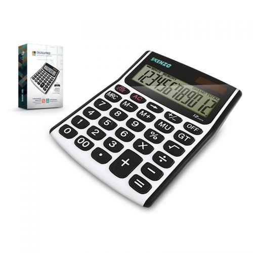Calculatrice argent noir publicitaire AC Créations Strasbourg Alsace