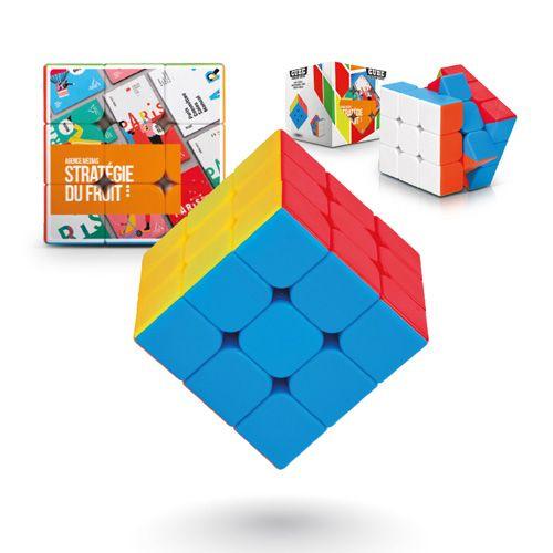 Cube casse tête a résoudre publicitaire AC Créations Strasbourg Alsace