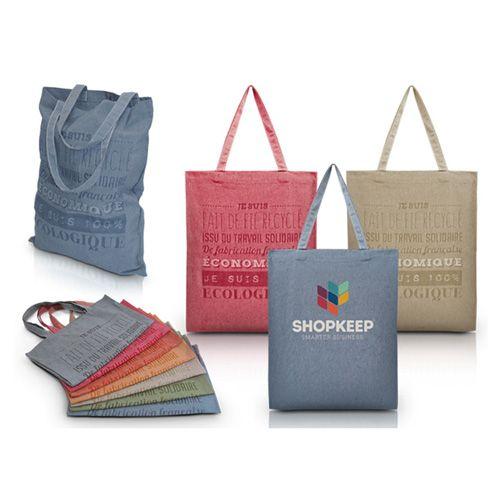 Tote bag en fil recyclable personnalisable publicitaire AC Créations Strasbourg Alsace